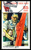 Vintage postage stamp. Festivities. — Stock Photo