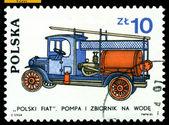 Vintage postage stamp. Polski Fiat. 1930. — Stock Photo