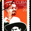 Vintage  postage stamp. Sandinista Movement in Nicaragua. - Stock Photo