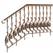 Stock Photo: Decorative banisters, railing.