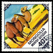 Vintage postage stamp. Two Camels. — Stock Photo #32893711