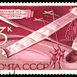 Vintage  postage stamp.  Model  Gliders. — Stock Photo