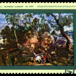 Stock Photo: Vintage postage stamp. Workers Quarry in by Rubens.