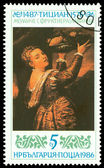 Vintage postage stamp. Salome with the Head of John the Baptist — Stock Photo