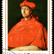 Stock Photo: Vintage postage stamp. Cardinal, by Raphael.