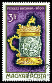 Vintage  postage stamp. Tankard, 1690. — Stock Photo