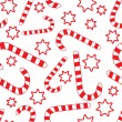 Seamless pattern with candy canes — Stock Vector #1691691