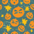 Seamless halloween background — Stockvektor