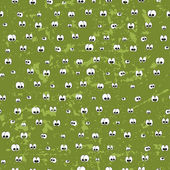 Seamless pattern with eyes — Stock Vector