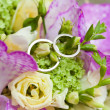 Stock Photo: Two wedding rings