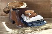 Cowboy Theme — Stock Photo