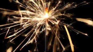 Sparkler — Stock Video