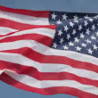 United States flag waving in wind — Stock Video