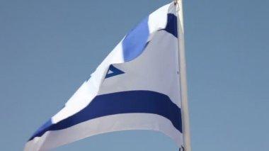 Israel flag — Stock Video
