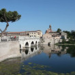 Tiberius' Bridge, Rimini - Stock Photo