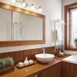 Stock Photo: Modern Residential Home Bathroom