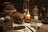 Alchemy still life — Stock Photo
