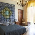 Постер, плакат: Bedroom in Tuscany style Lucca Italy