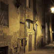 Night streets of Pisa, Italy — Stock Photo #30676259
