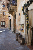 Streets of Colle di Val d'Elsa town, Italy — Stock Photo
