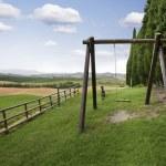 Rural swing — Stock Photo