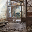 Destroyed Orthodox church — Stock Photo