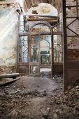 Destroyed Orthodox church — Stock Photo