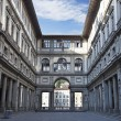 Uffizi Gallery at early morning — Stock Photo