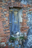 Detail of abandoned building — Stock Photo