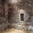 Stock Photo: Abandoned prison cell