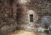 Abandoned prison cell — Stock Photo