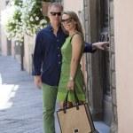 Happy middle age couple — Stock Photo