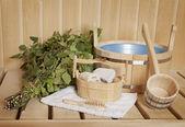 Detail of bath room interior — Stock Photo
