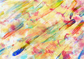 Children drawing - abstract art painting — Stock Photo