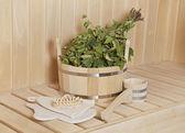 Sauna stuff  — Stock Photo