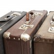 Old travelling suitcases — Stock Photo #7568837