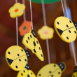 Ladybug Baby Mobile — Stock Photo #21595903