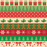 Collection of vector christmas ornaments — Vecteur