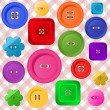 Collection of vector buttons - Stock vektor
