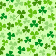 Saint Patrick's day seamless background — Stock Vector