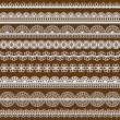 Set of Lace Ribbons - for design and scrapboo - Imagen vectorial