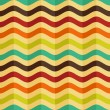 ストックベクタ: Vector seamless background with stripes in retro style