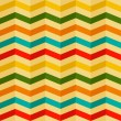 Vector seamless background with stripes in retro style -  