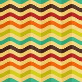 ベクトルのレトロなスタイルのストライプとのシームレスな背景 — ストックベクタ