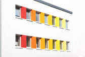 Colored windows — Stock Photo