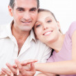 Portrait of Lovely Couple — Stock Photo #12428046