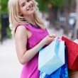 Woman with Shopping Bags — Stock Photo #12662191