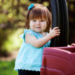 Young Girl Outdoor Portrait — Stock fotografie