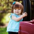 zewnątrz portret młodej dziewczyny — Zdjęcie stockowe