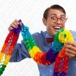 Happy Party Geek — Stock Photo #12765358